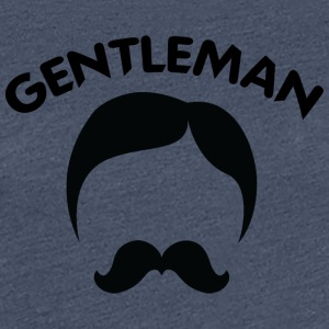 GENTLEMAN 3 black - Women's Premium T-Shirt
