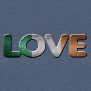 I LOVE IRELAND - Women's Premium T-Shirt