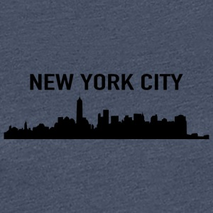 NEW YORK CITY - Premium T-skjorte for kvinner