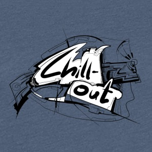 Chillout - Dame premium T-shirt