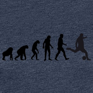 Football Evolution / Soccer evolution - White Edit - Women's Premium T-Shirt