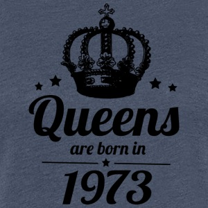 Queen 1973 - Frauen Premium T-Shirt