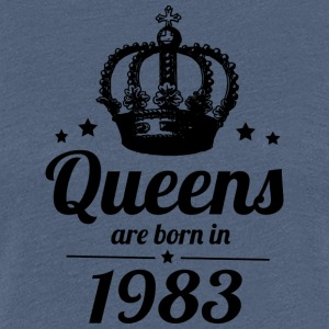 Queens 1983 - Women's Premium T-Shirt