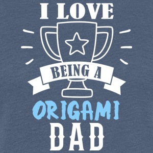 Origami father - Women's Premium T-Shirt