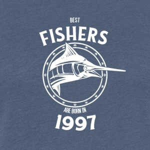 Present for fishers born in 1997 - Women's Premium T-Shirt