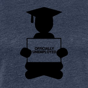 High School / Graduation: officiellement au chômage - T-shirt Premium Femme