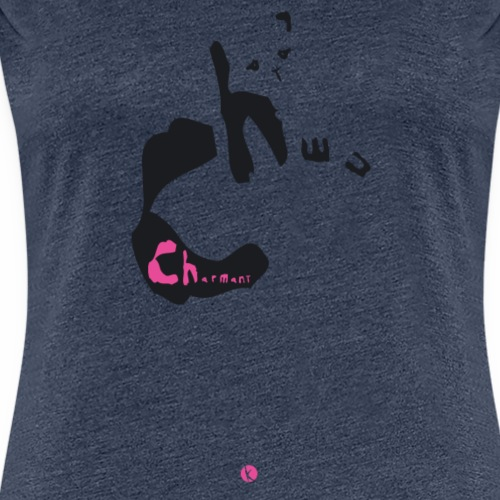 chat charmant - T-shirt Premium Femme