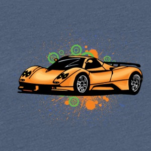 Cool supercars - Vrouwen Premium T-shirt