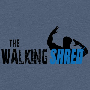 The Walking Shred - Dame premium T-shirt