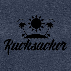Rucksacker - Backpacker - Vrouwen Premium T-shirt