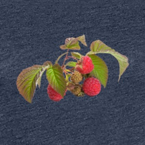 Raspberry fruit Organic Fruits - Women's Premium T-Shirt