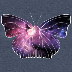 Galazy in butterfly - Women's Premium T-Shirt