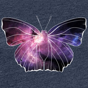 Galazy in Schmetterling - Frauen Premium T-Shirt