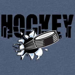 HOCKEY PUCK - Women's Premium T-Shirt