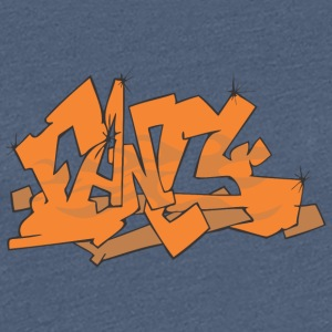 Phantasie Graffiti - Frauen Premium T-Shirt
