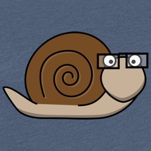 Brown snail - Frauen Premium T-Shirt