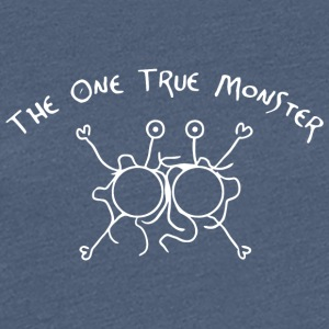 the one true monster white - Women's Premium T-Shirt