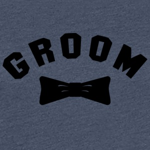 GROOM Getting Married - Premium T-skjorte for kvinner