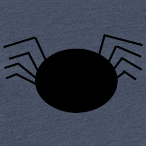 Black cartoon spider - Frauen Premium T-Shirt