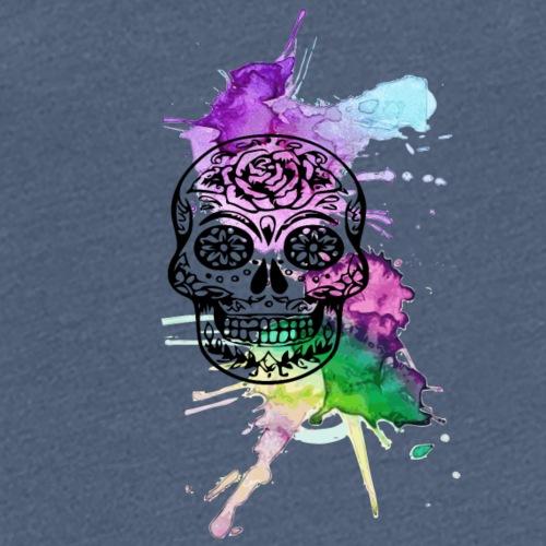 crane mexicain aquarelle - T-shirt Premium Femme