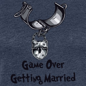 Game Over Getting Married - Women's Premium T-Shirt