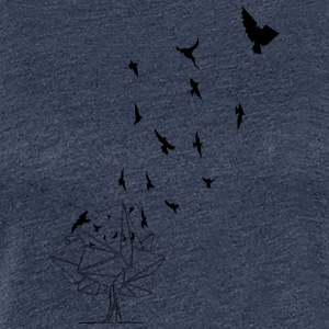 The Birds {Die Vögel} for a Limited time - Frauen Premium T-Shirt