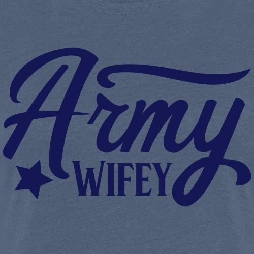 Army Wifey - Vrouwen Premium T-shirt