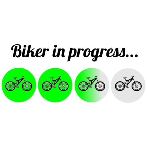 Biker in Progress - Frauen Premium T-Shirt