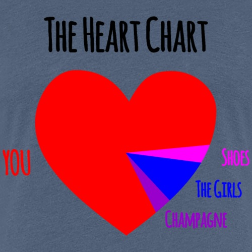 The Heart Chart (Hers) - Frauen Premium T-Shirt