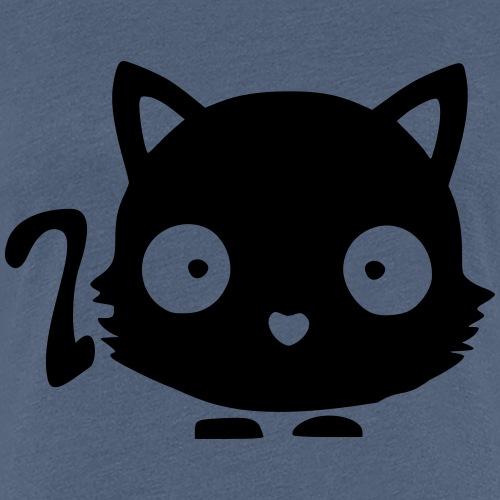 Katze süß - Frauen Premium T-Shirt