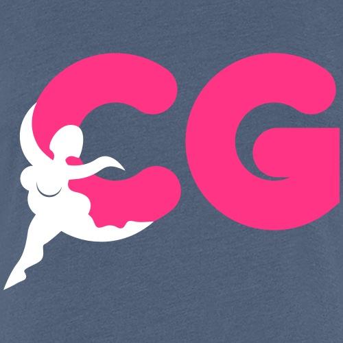 curvy girls - Frauen Premium T-Shirt