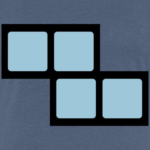Computerspieleklassiker Block Z - Frauen Premium T-Shirt