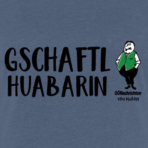 Gschaftlhuabarin - Vitus Mostdipf - Frauen Premium T-Shirt