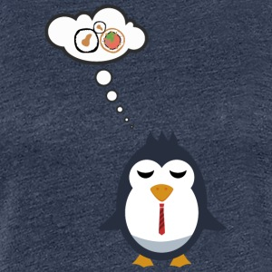 Even penguins dream of Sushi - Women's Premium T-Shirt