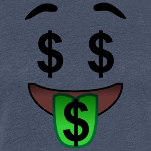 Money Locks, horny on carbon - Women's Premium T-Shirt