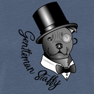 gentleman Staffy - Premium T-skjorte for kvinner