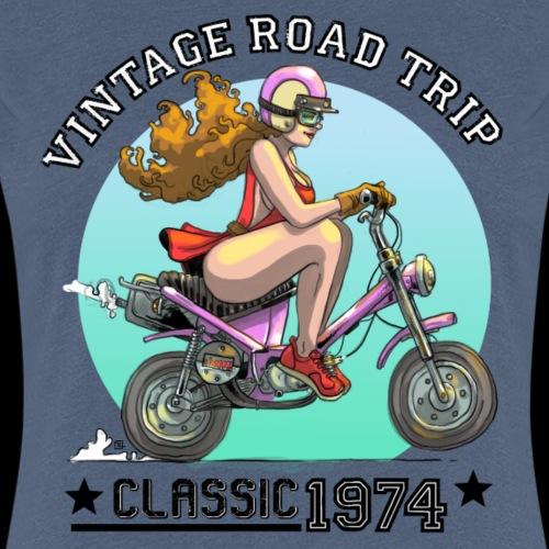 Vintage road trip - T-shirt Premium Femme