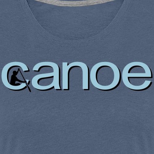 canoe - Frauen Premium T-Shirt