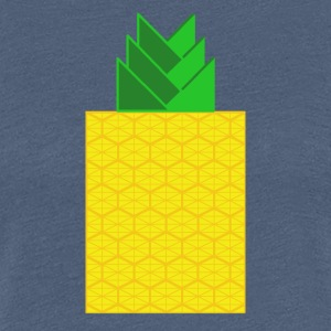 DIGITAL frugter - Digital PINEAPPLE - Digi Pineapple - Dame premium T-shirt