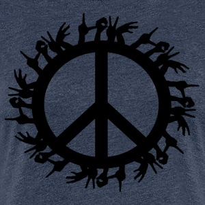 ++ ++ Love & Peace - Women's Premium T-Shirt
