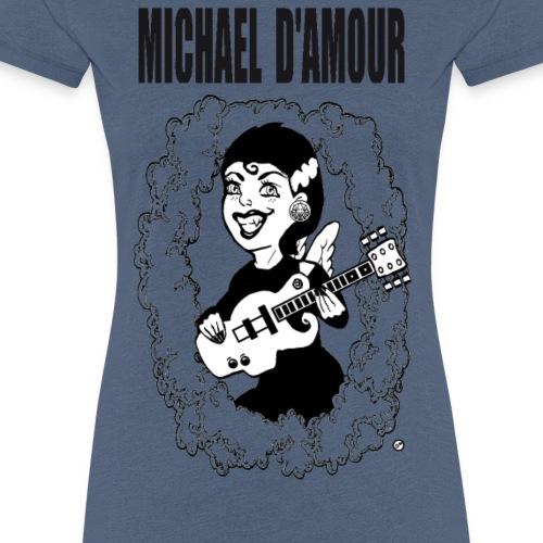 Michael D'Amour Riot grrl noir édition limitée - T-shirt Premium Femme