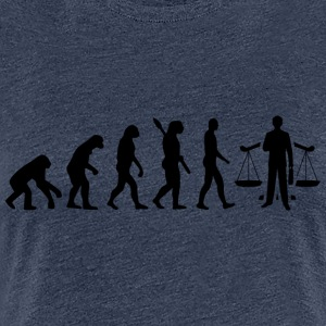 Advokaten evolution JURA Sort - Dame premium T-shirt