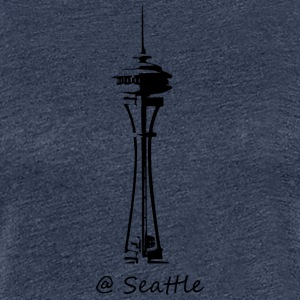 Seattle - Frauen Premium T-Shirt