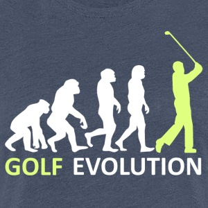 ++ ++ Golf Evolution - Premium-T-shirt dam