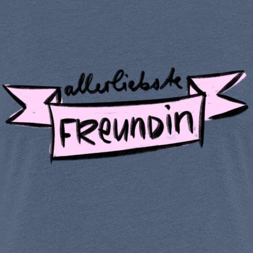 Allerliebste Freundin - Frauen Premium T-Shirt
