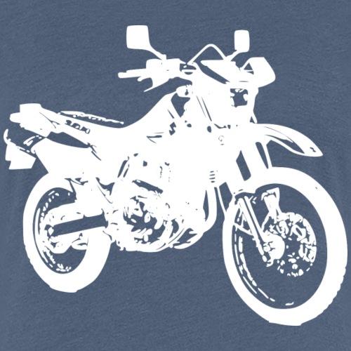 DR650 weiss - Frauen Premium T-Shirt