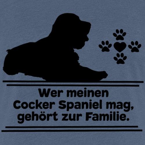 Cocker Spaniel T-Shirts Cockerspaniel Hundespruch - Frauen Premium T-Shirt