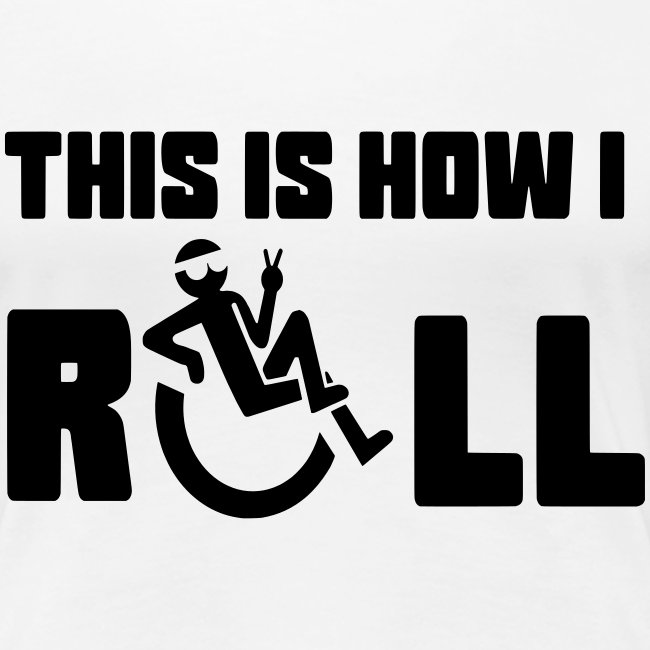 Zo rol ik in mijn rolstoel 006