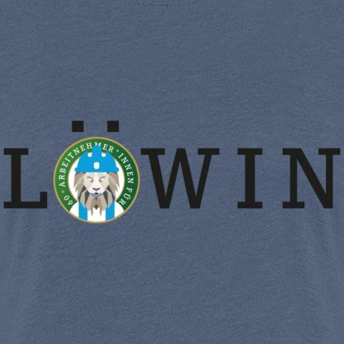 Arbeitnehmer*innen für Sechzig - Löwin - Frauen Premium T-Shirt