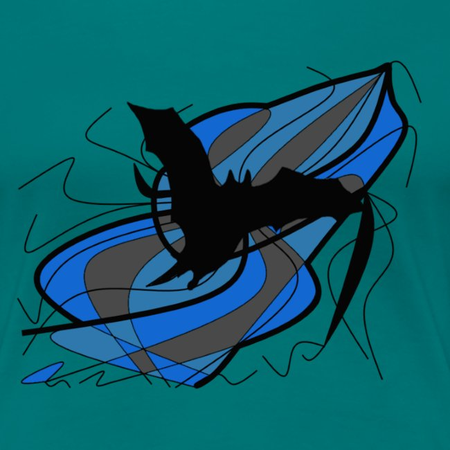 Fantasie Fledermausmotiv